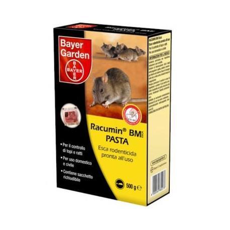 ESCA TOPICIDA RATTICIDA RACUMIN BM BAYER IN PASTA TOPI RATTI GR. 500