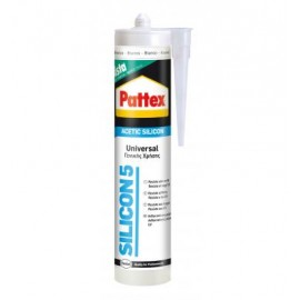PATTEX ACETIC SILICONE UNIVERSAL BIANCO 280 ML