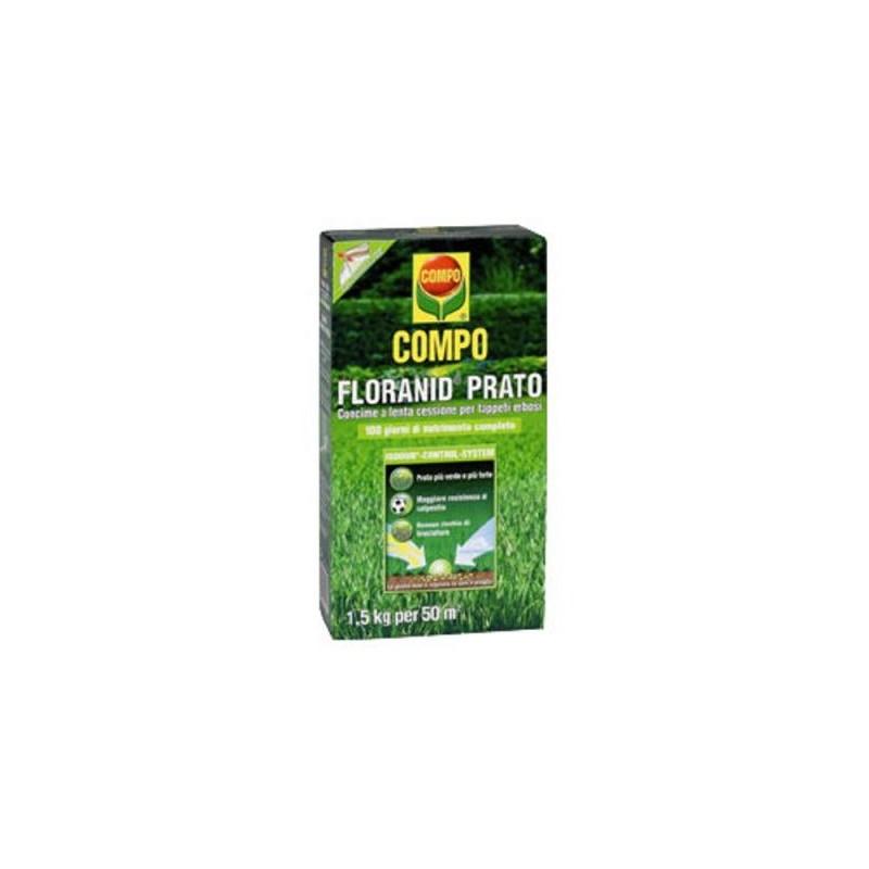 Compo concime granulare per prato floranid da kg 3 - Concime per prato ...