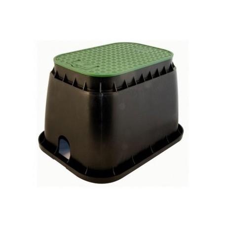 Pozzetto rettangolare verde per elettrovalvole irrigazione for Elettrovalvole per irrigazione