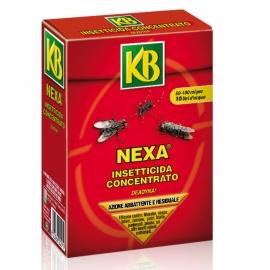Insetticida Concentrato KB NEXA Liquido 100ml Zanzare, Mosche, Pulci, Blatte, zecche e insetti volanti