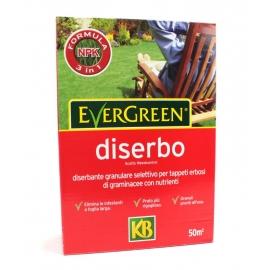 Diserbante Selettivo Evergreen Diserbo per Tappeti Erbosi contro Infestanti