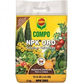 COMPO NPK ORO (EX NITROPHOSKA ORO) CONCIME GRANULARE UNIVERSALE NITROFOSCA 5 KG