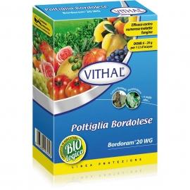 Poltiglia Bordolese Vithal Bordoram Fungicida per Piante 500g