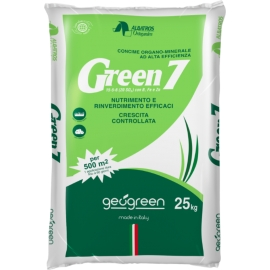 Concime Organo Minerale Green 7 Geogreen 25kg Made in Italy