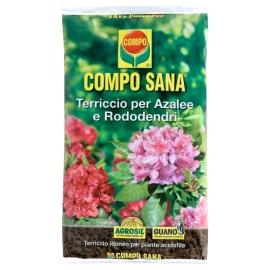 Terriccio Compo Sana per Azalee e Rododendri 20lt per Piante Acide