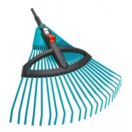 GARDENA Scopa per erba regolabile in plastica ART.3099-20 Larghezza di lavoro 35 cm
