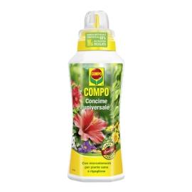 Compo, 1, Concime Liquido Universale,Ideale per Tutte Le Piante in Vaso, in casa e da Balcone, 1 Litro