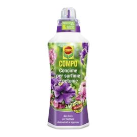 COMPO Concime per Surfinie e Petunie, per fioriture abbondanti, 1 l