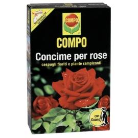 COMPO Concime per Rose, Con Guano, Anche per Cespugli Fioriti e Rampicanti, 1 Kg
