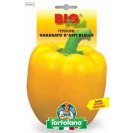L'ORTOLANO BIG PACK PEPERONE Quadrato d'Asti giallo