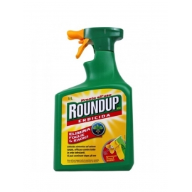 ROUNDUP DISERBANTE ERBICIDA TOTALE PRONTO ALL' USO 1000 ML